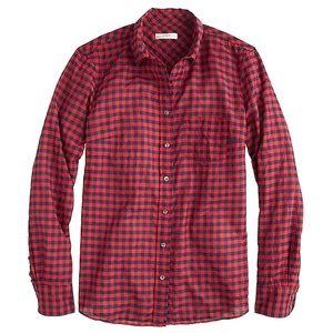 JCrew Classic Fit Boy Shirt in Crinkle